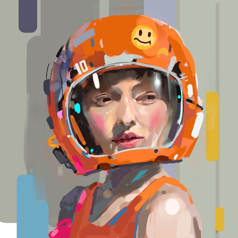 Her helmet^^