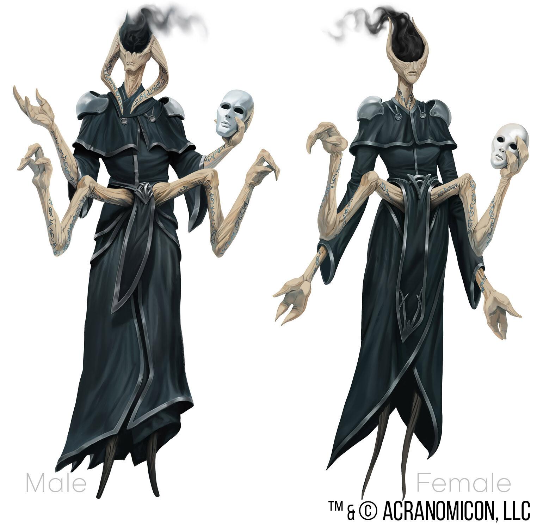 Tales of Arcana - Playable Races 2