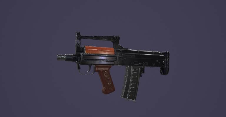 "OTs-14 ""Groza"" - Marmoset Viewer"