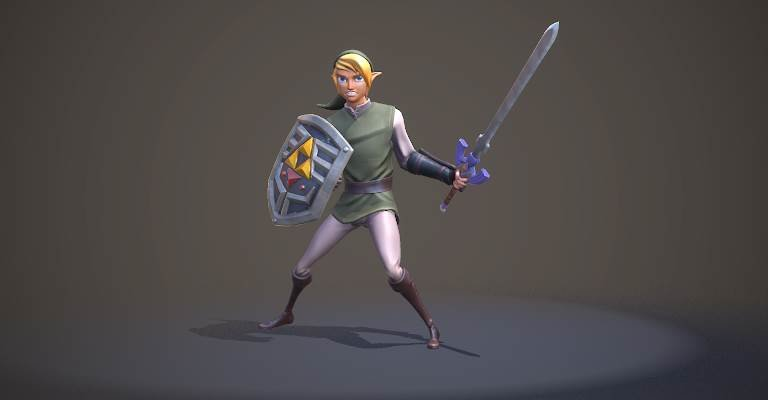 LOZ: Link Fan Art Marmoset Viewer