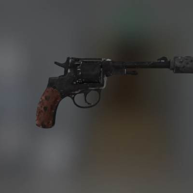 Suppressed Nagant M1895