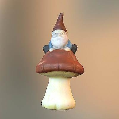 Walmart Gnome On Mushroom