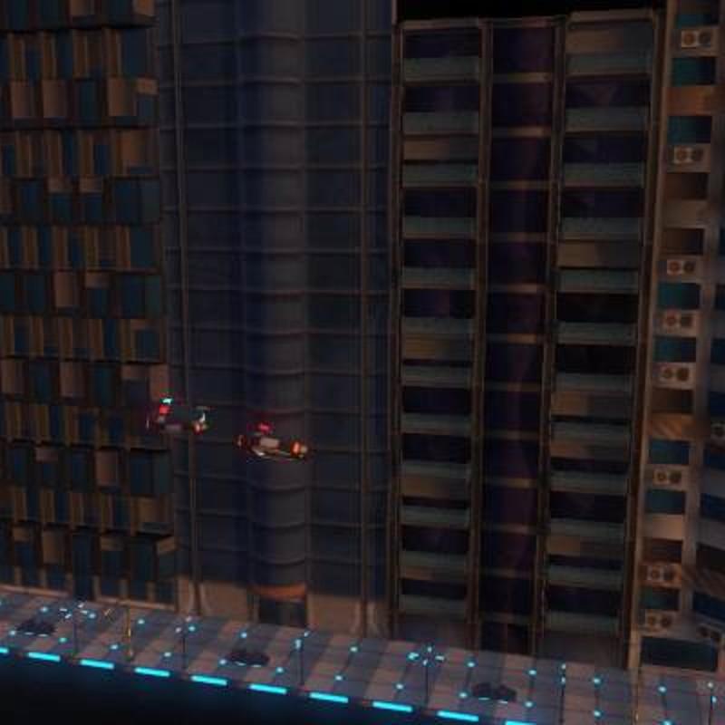 Sci-Fi City Props