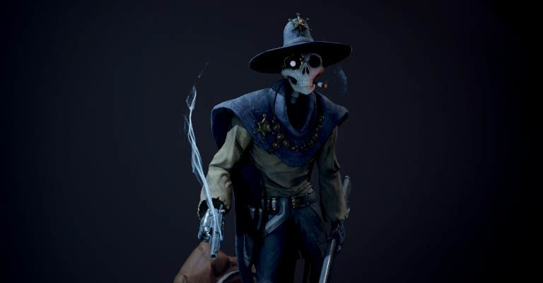 Sheriff Skull - Alternate Pose