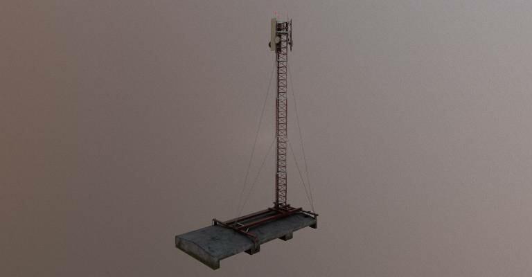 ArtStation - Radio tower, Astro N