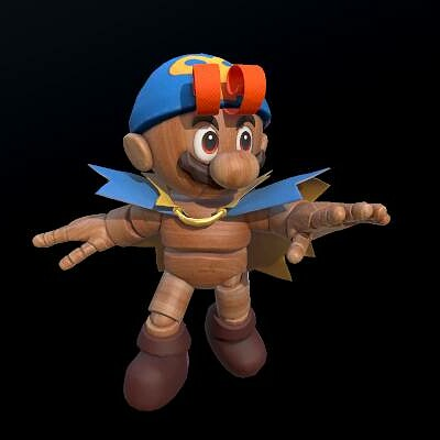 Geno Costume for Mario (Super Mario Odyssey Mod)