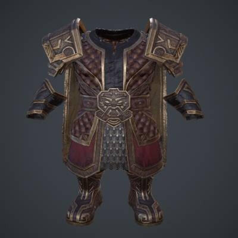 WIP | Dwarf Warrior