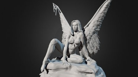 3D Illustration - Boris Vallejo