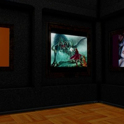 Virtual Art Gallery of ELynx