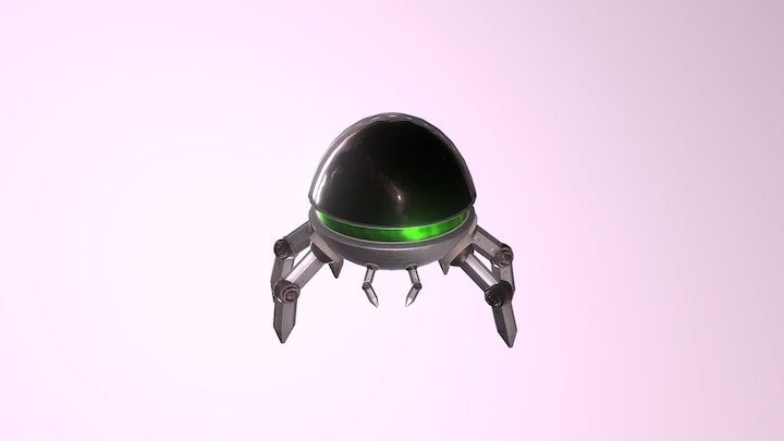 Game Model - Spider Bot