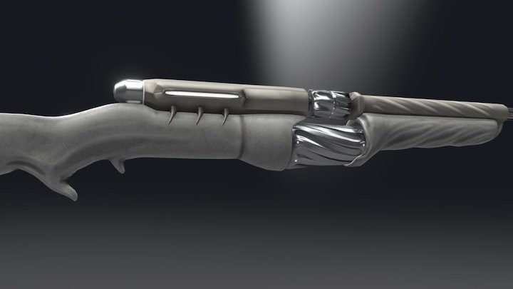 TennoGen Rifle Concept - Hellux Semi-Auto/Burst Rifle