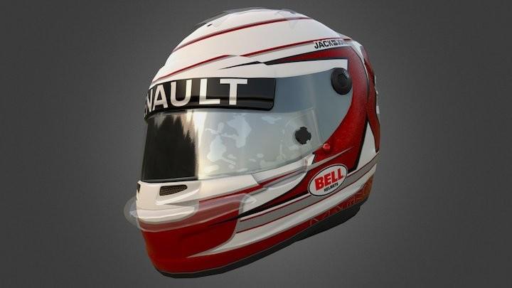 Kevin Magnussen F1 Helmet