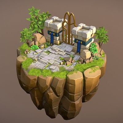 2017 - Castle Kingdom - Floating Island