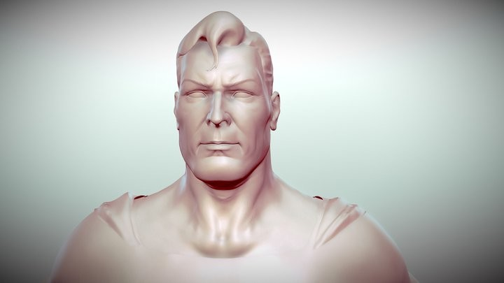 WIP Superman - from Alex Ross Kingdom Come version
