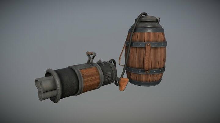 Dwarf Beer Canon - Non-Violent Weapon Challenge