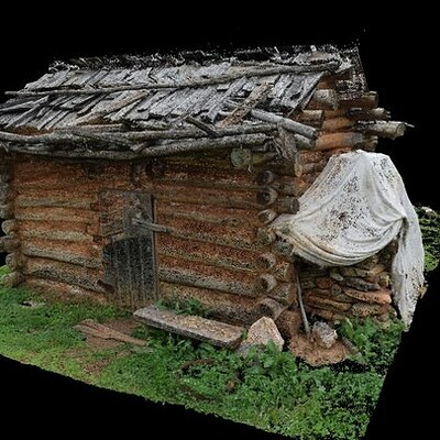 Log Cabin, Outbuilding Fort Dobbs