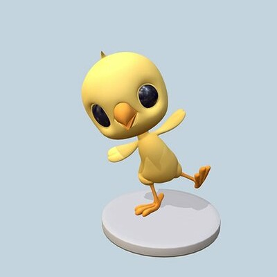 Pikin, Cute little chick character for the Character Creation Guide