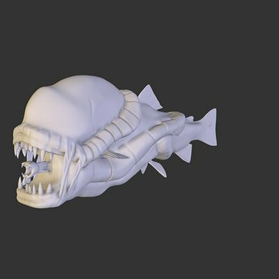 Xenomorph Fish
