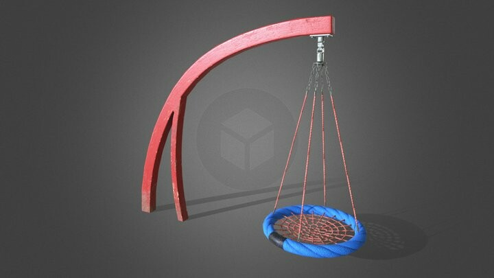 Playground Cantilever Swing