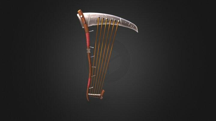 Instrument de musique stylisé