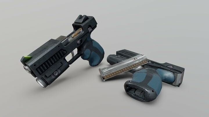 HW-10mm Enforcer Sidearm