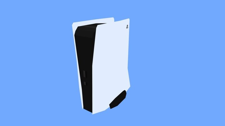 Playstation 5 Lowpoly