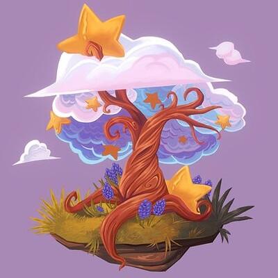 2.5D Star Tree (CGMA)