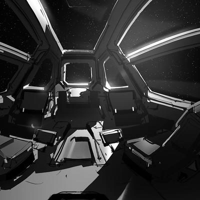 Jama jurabaev spaceship interior final
