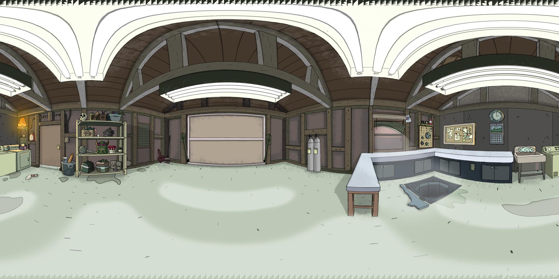 ArtStation - Rick & Morty - Garage 360/VR, Lothaire Limon on