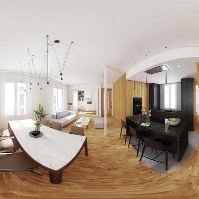 Miguel martin apartment 360