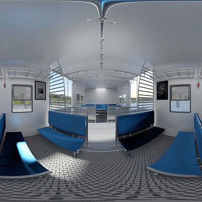 Rajesh r sawant train interior 360 highcc