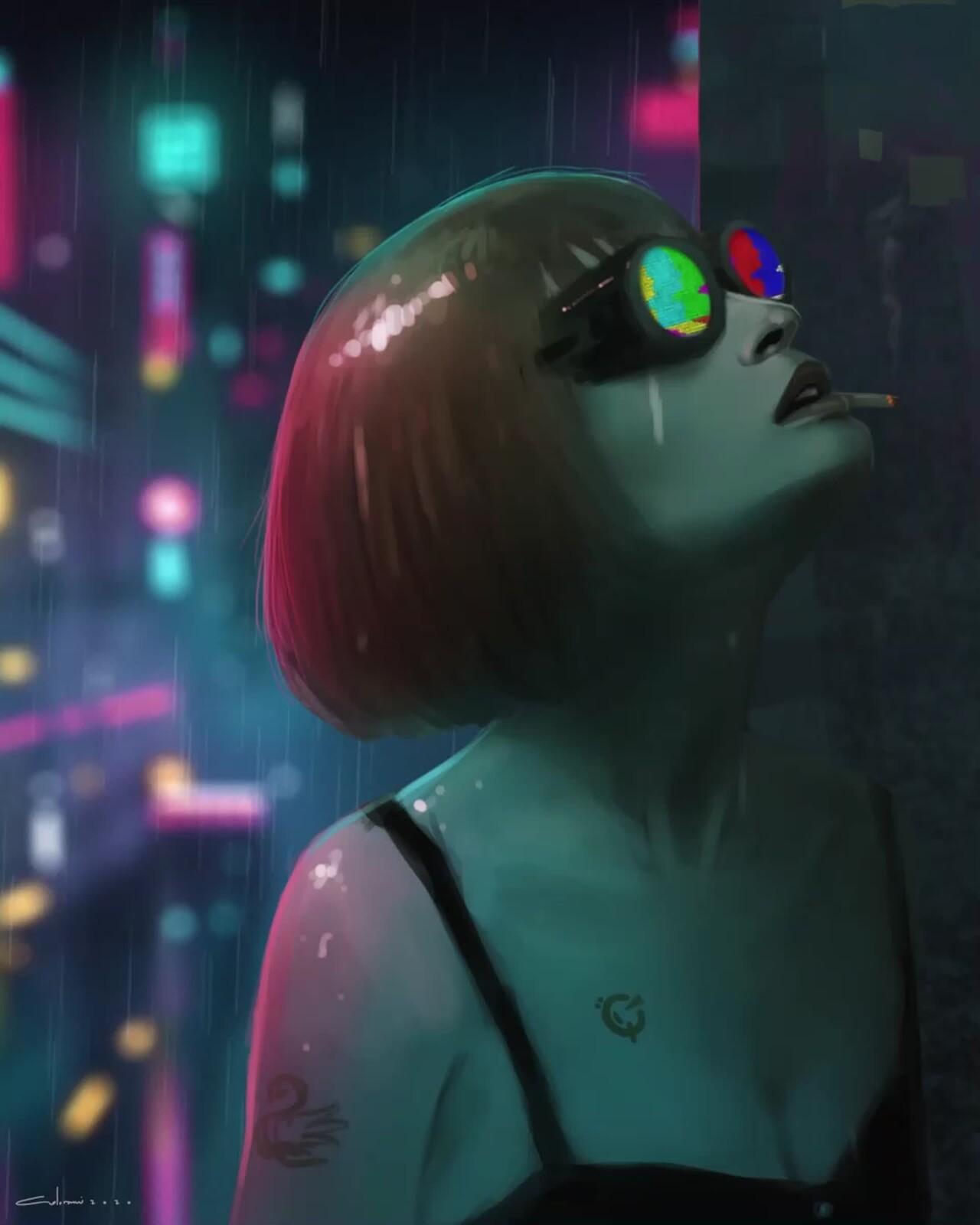 Neon Gaze