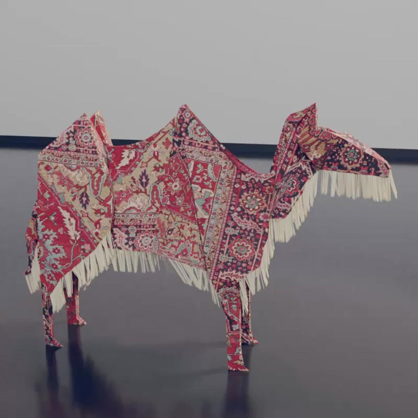 Persian Rug Origami