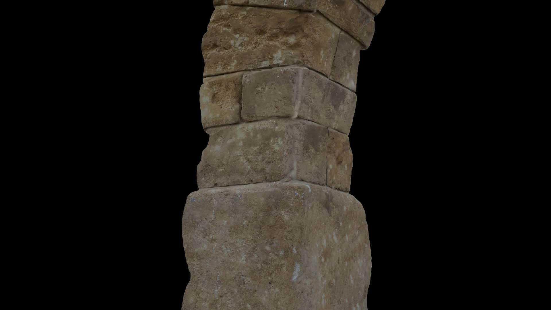 Stone Pillar- Nuke Projection
