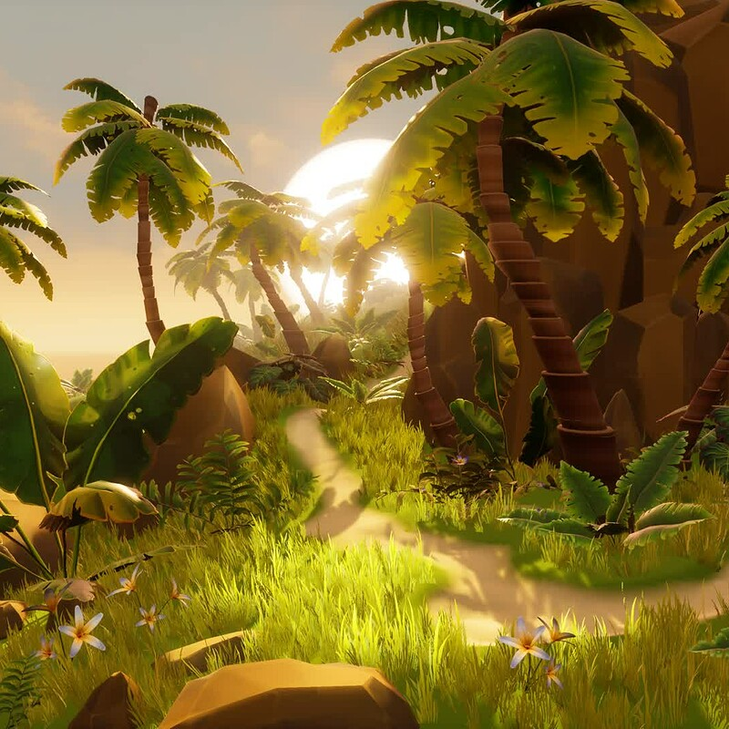 Tropical Adventure - Environment