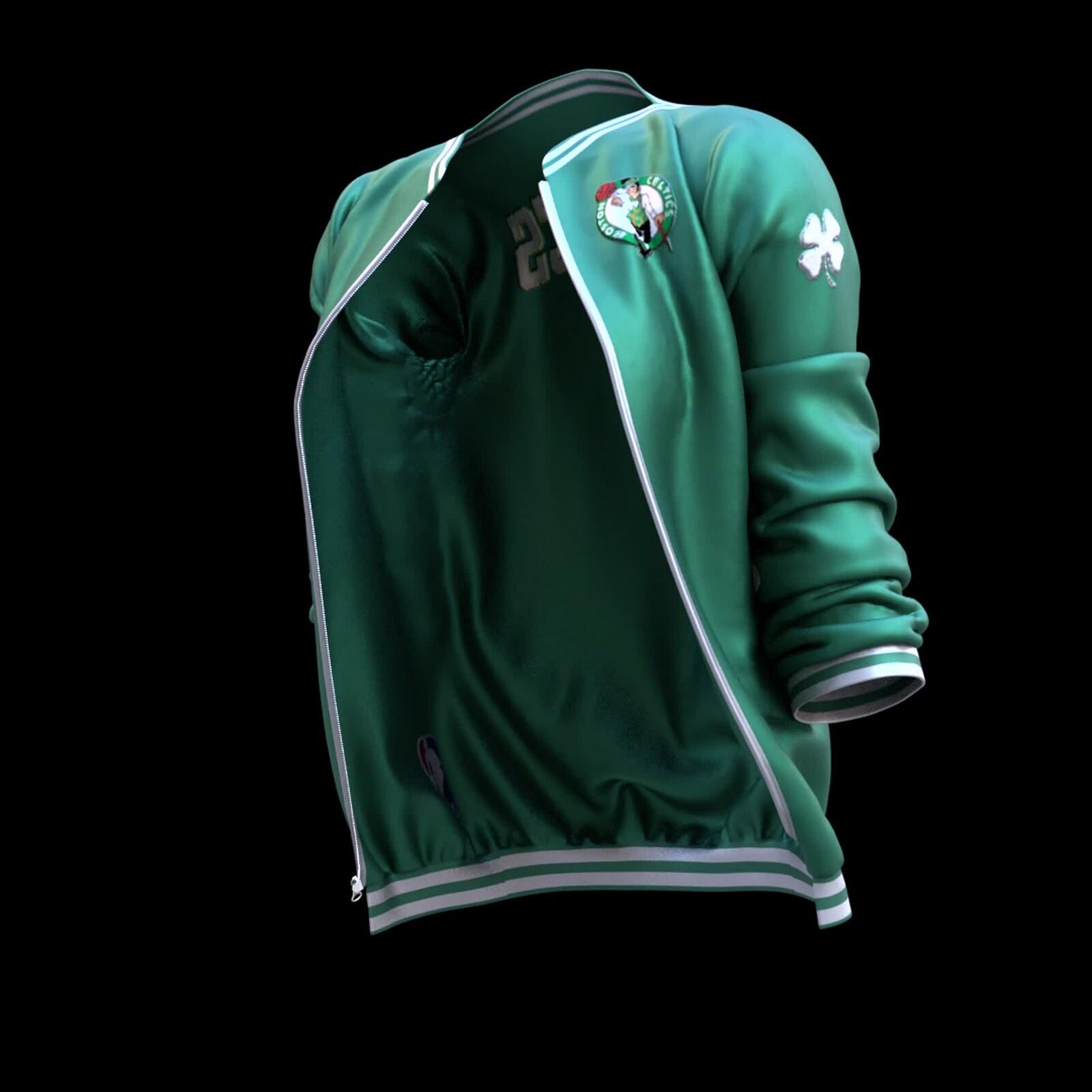 Homage to Boston Celtics! 🏀☘️