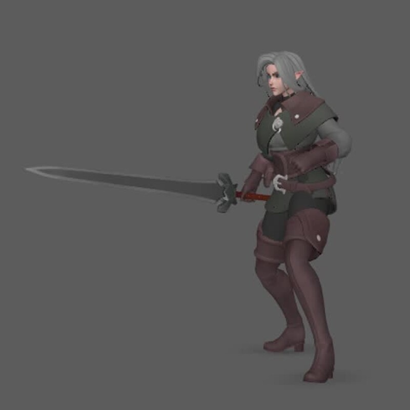 Idle and Walking Animation Cycles