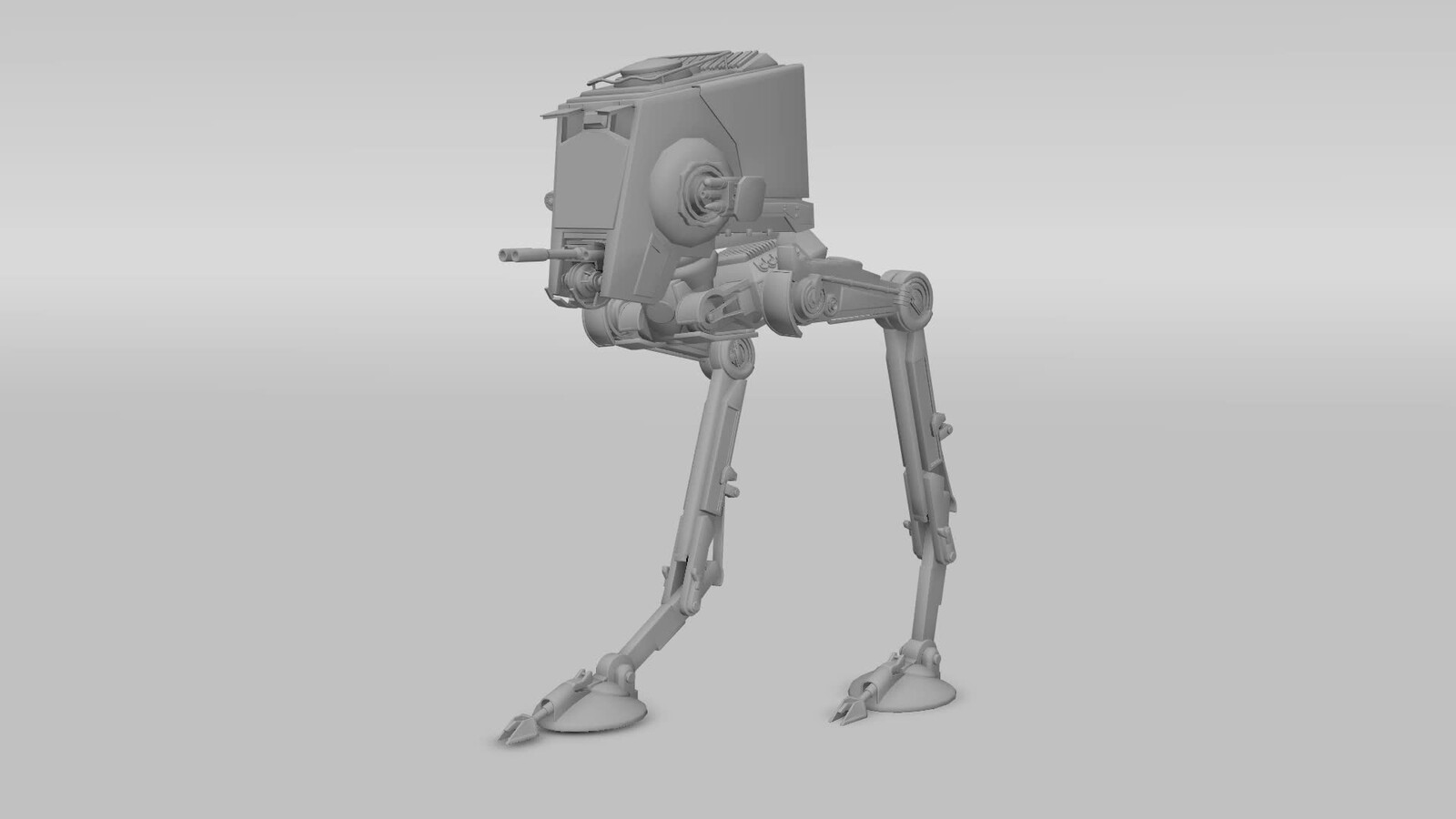 AT-ST Imperial Walker Animation