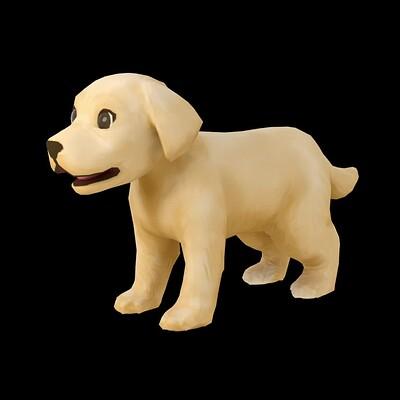 3D Modeling | Pepper the Pupper