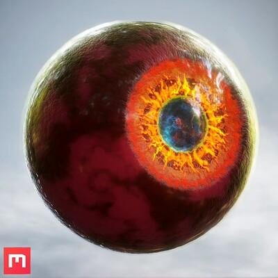 Demonic Eye Procedural Material