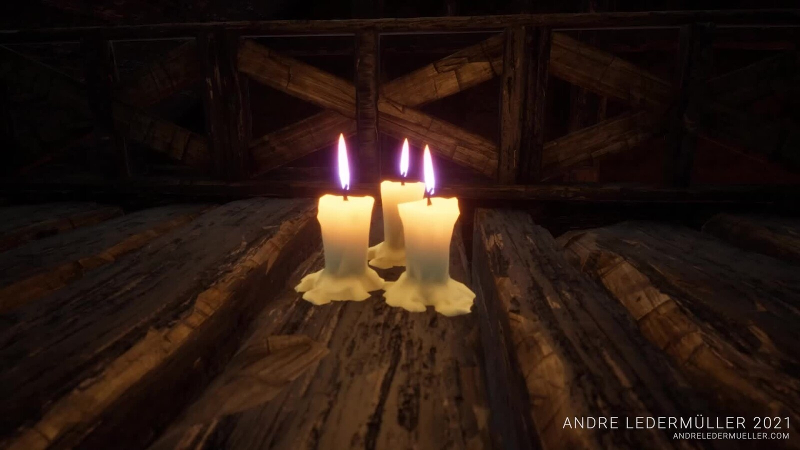Fenja - Candle + Material