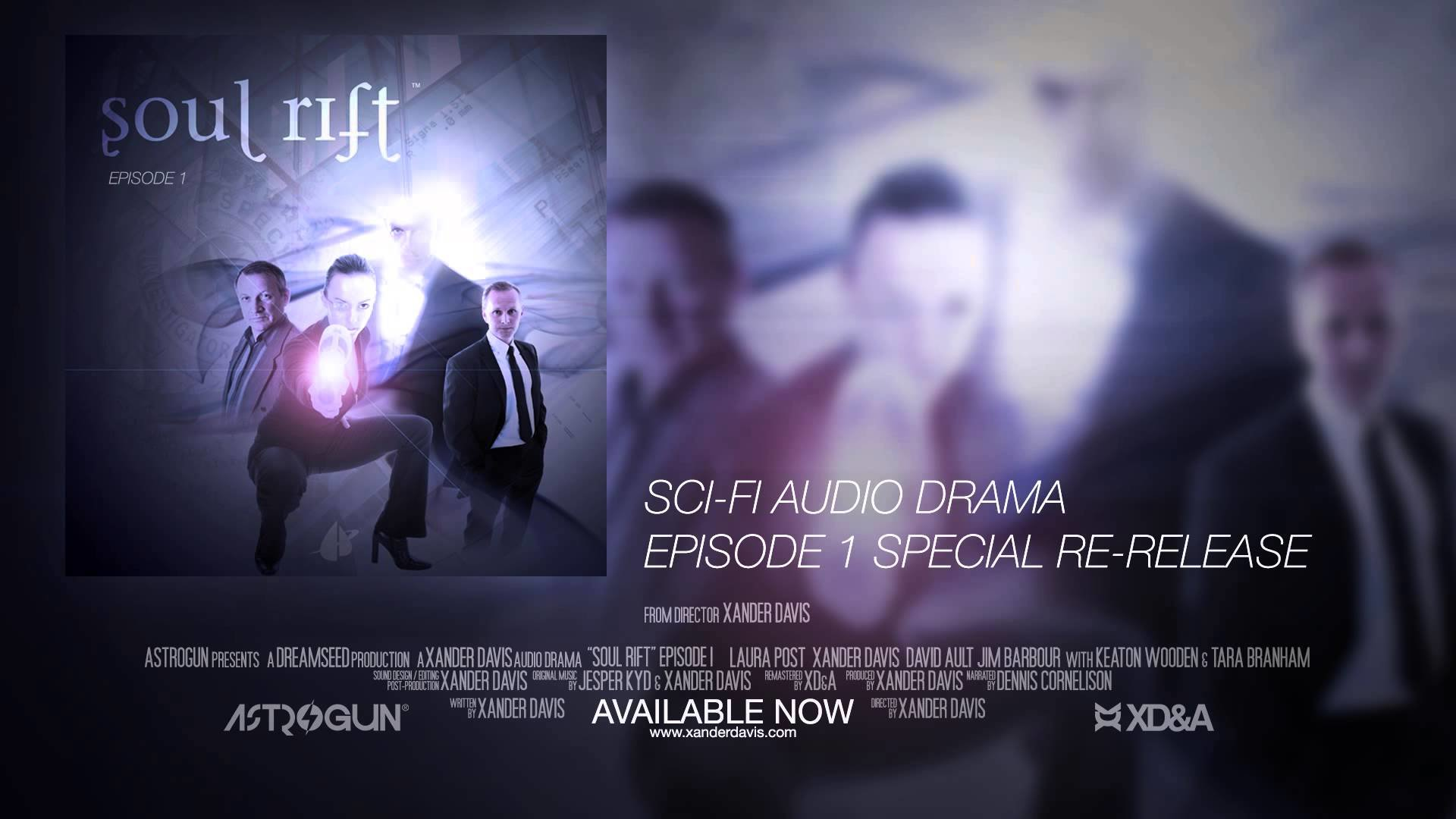artstation soul rift sci fi audio drama xander davis