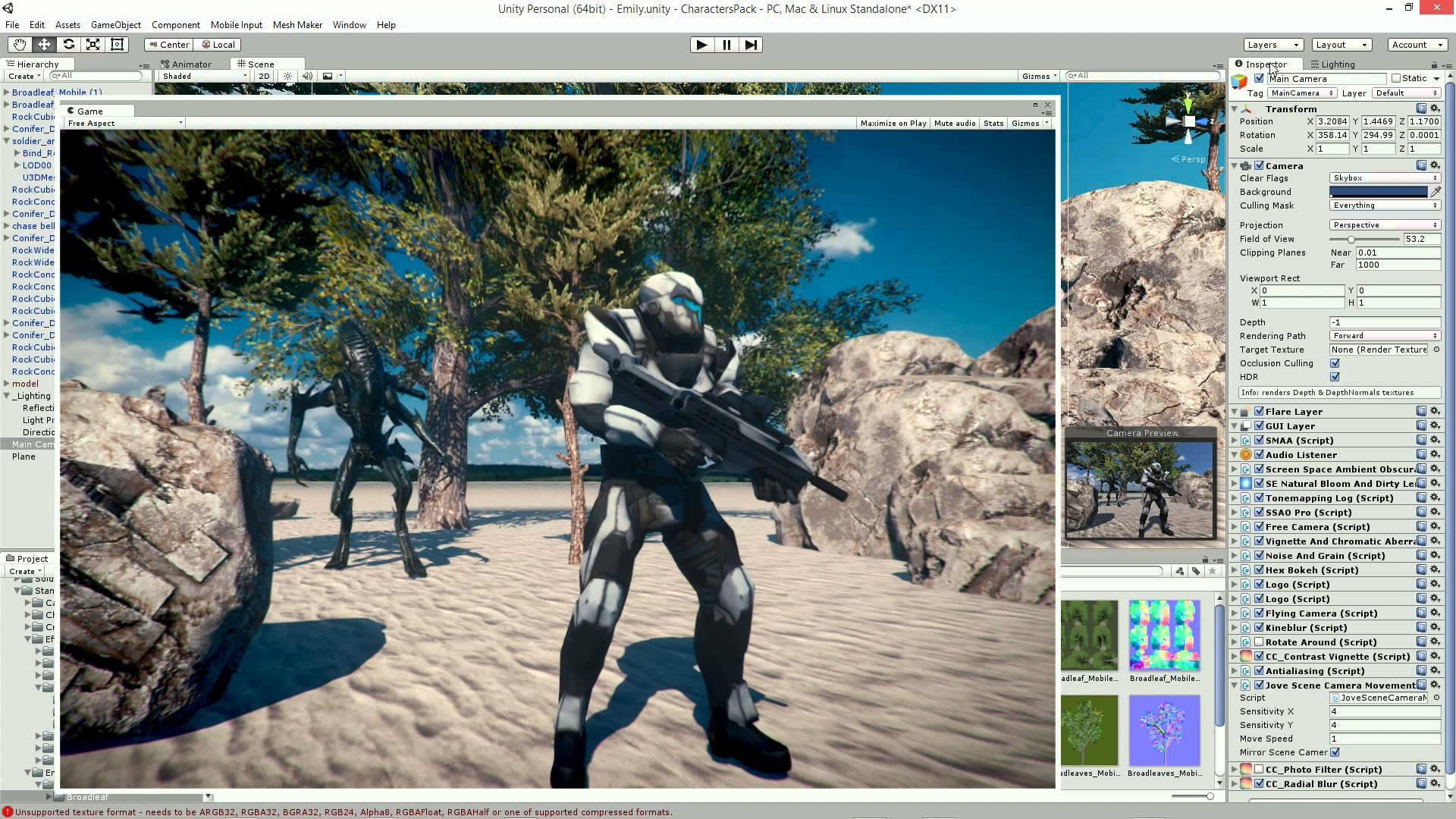 ArtStation - MGD Films - Unity 5, Dont Move, with Making Of
