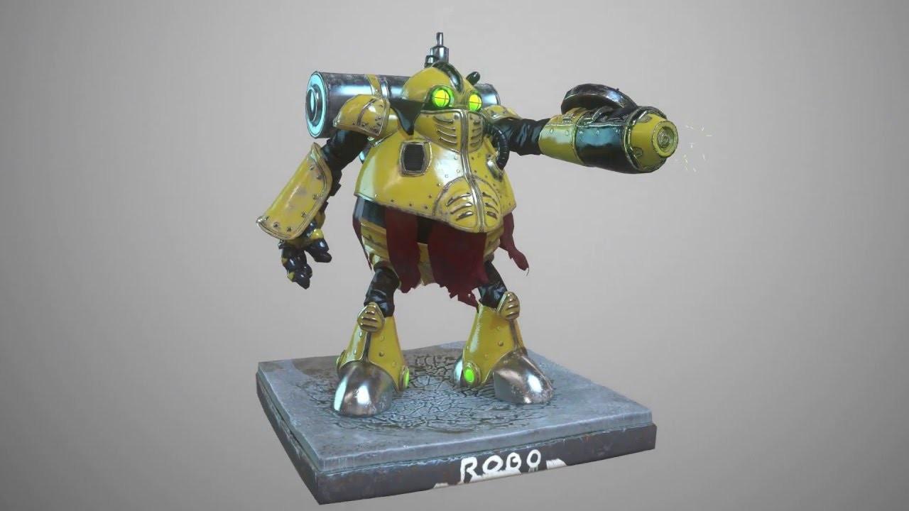 Chrono Trigger ROBO - Animation
