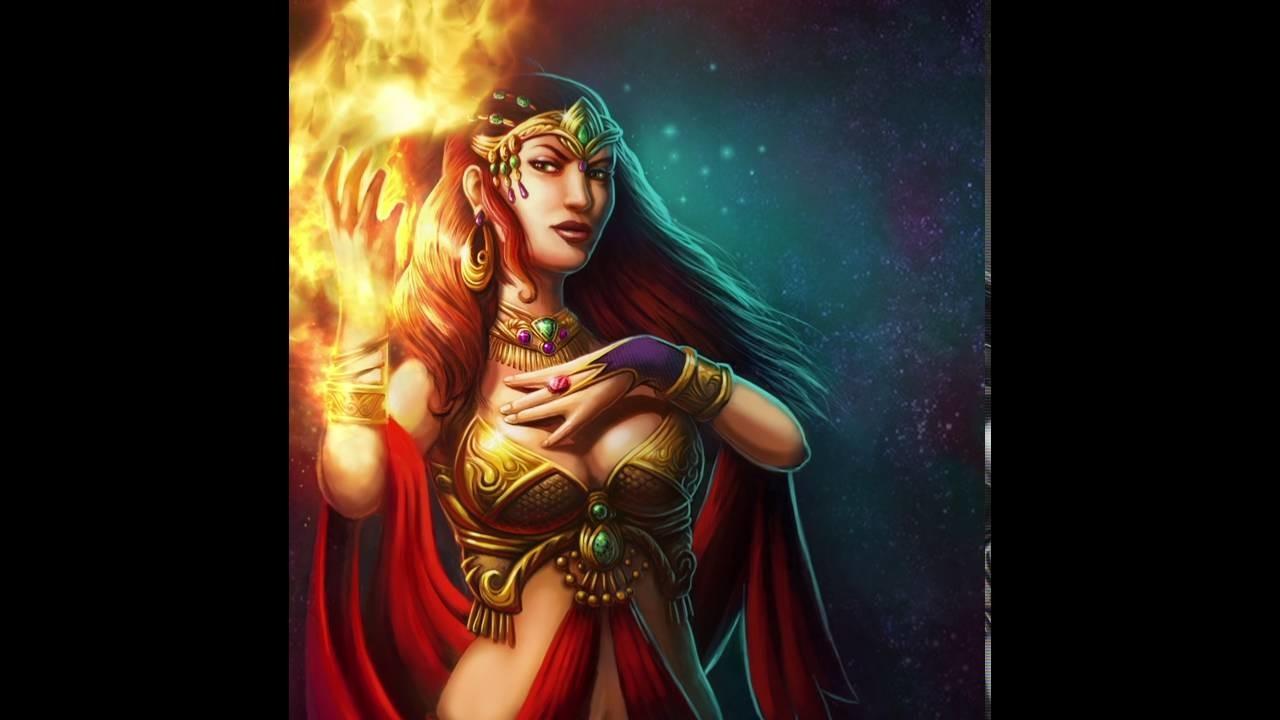 UI Art and VFX for Fire Queen