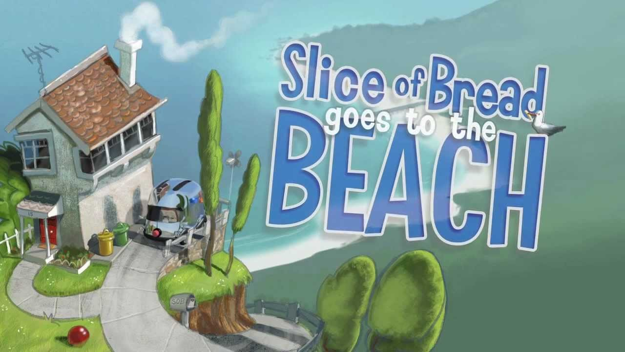 Slice of bread goes to the Beach.  Launch Video