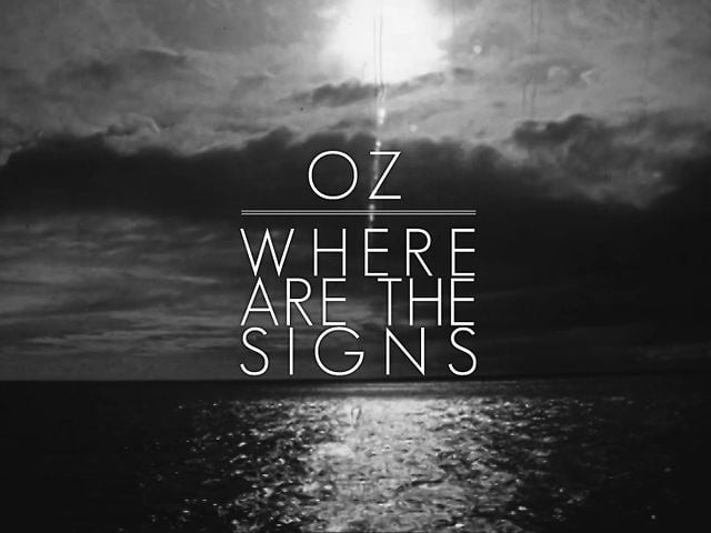 Where Are the Signs ?