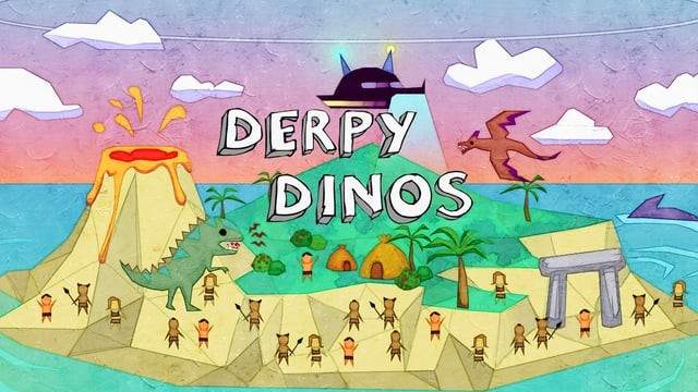 Derpy Dinos_StudentGameProject