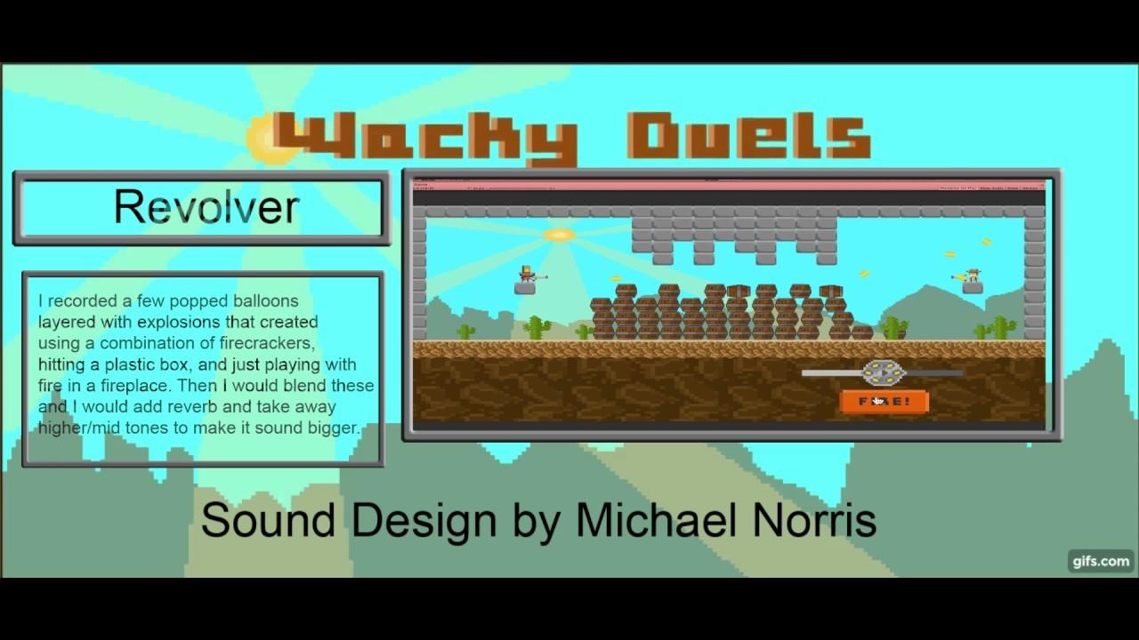 ArtStation - Wacky Duels, Michael Norris