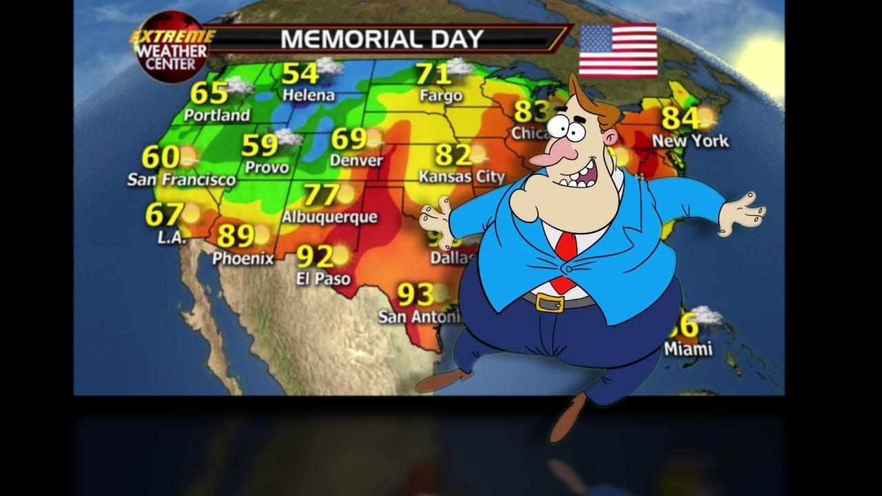 Brian Lemay Tap Dancing Weather Man